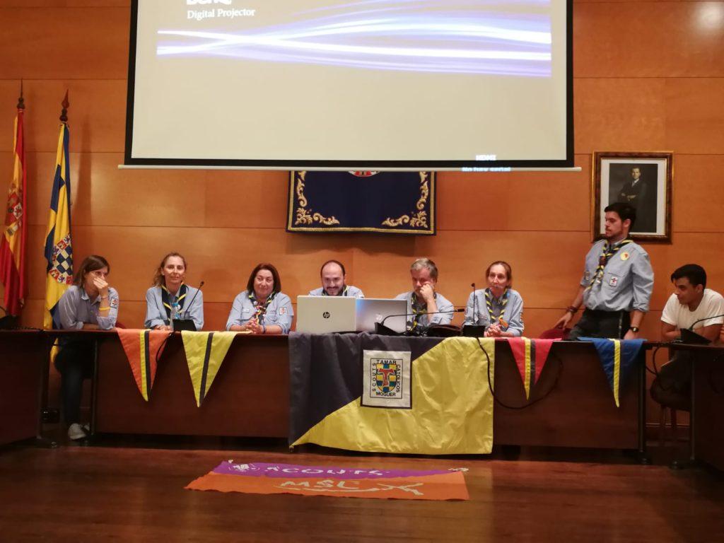 GRAN ÉXITO DE ASISTENCIA EN LA ASAMBLEA DE PADRES DEL GRUPO TAMAR